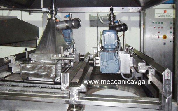 Lavorazioni meccaniche settore alimentare: impianto estrusione carne